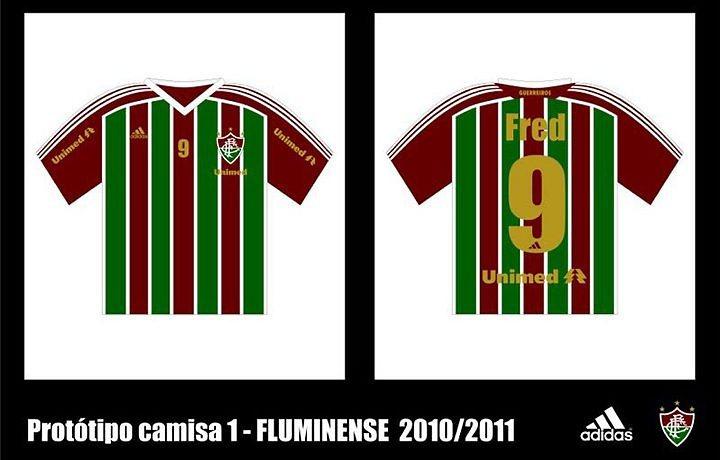 8771d6318ead6 ICFUT – Protótipo do novo uniforme tricolor do Fluminense circula ...