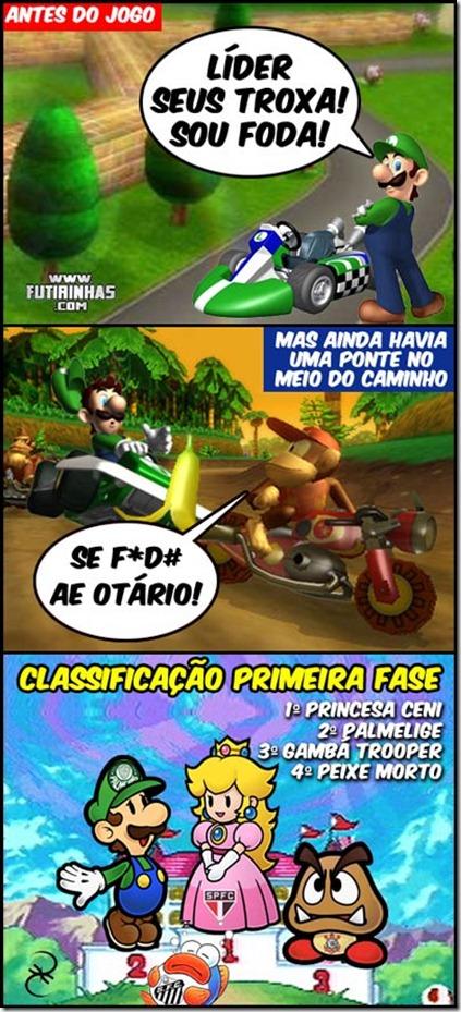 mario-kart-luigi-ponte-preta-palmeiras-são-paulo-corinthians-santos-primeira-fase-paulista-2011-futirinhas