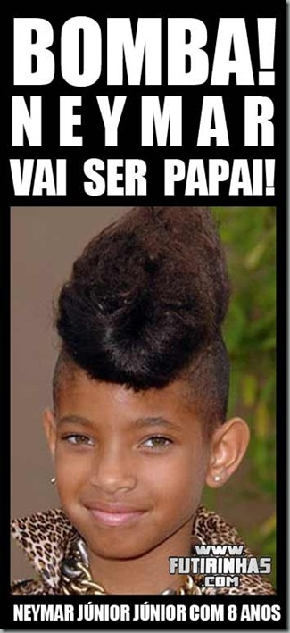 neymar-vai-ser-papai-junior-pai-santos-futebol-engraçado-humor