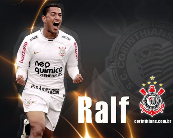 Ralf, titular absoluto do TIMÃO.