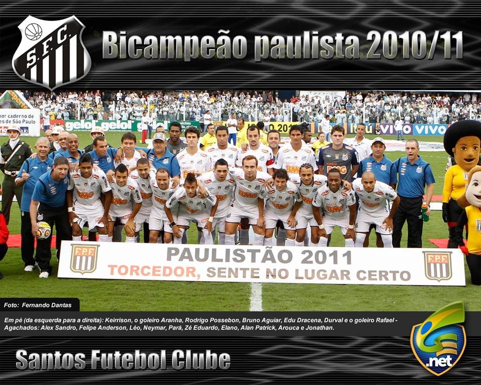 Santos Bicampeão Paulista 2011 d2a0a8e6c7f26