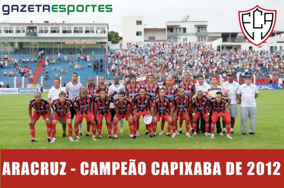 poster-aracruz-campeao-capixaba-2012