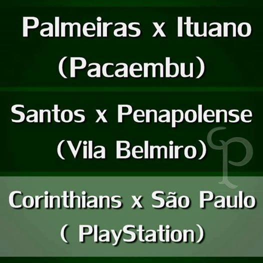CORINTHIANSX SÃO PAULO PAULISTÃO 2014