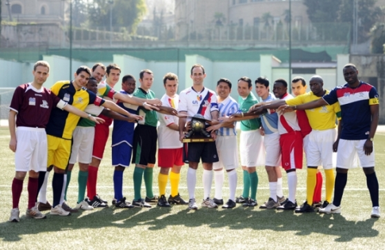 Os 16 representantes da Copa do Mundo de Padres
