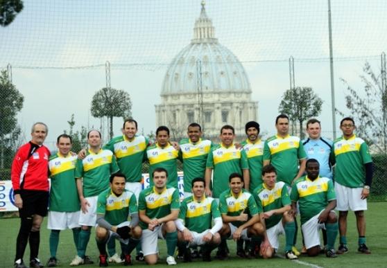 Seleção Brasileira de Padres na Copa do Mundo