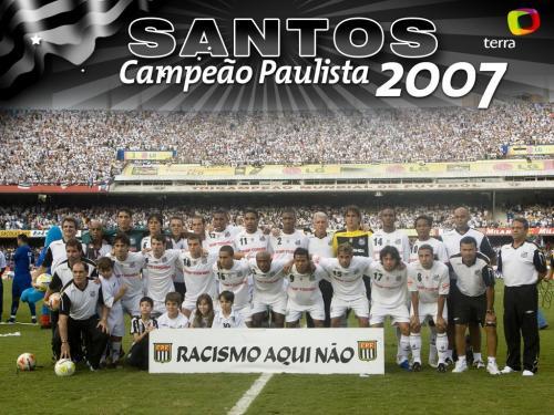 SANTOS FC  BICAMPEÃO PAULISTA 2007