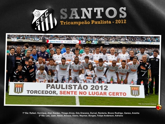 SANTOS FC TRICAMPEÃO PAULISTA 2013