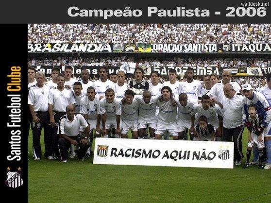 ANTOS FC  CAMPEAO PAULISTA 2006.