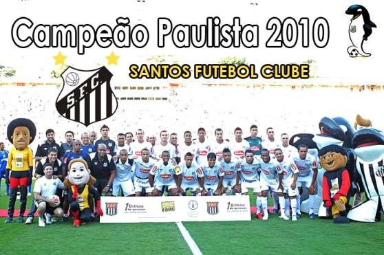 SANTOS FC CAMPEÃO PAULISTA 2010