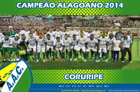 poster_coruripe_campeao_alagoano_2014
