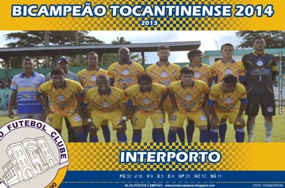 poster_interporto_bicampeao_tocantinense_2014